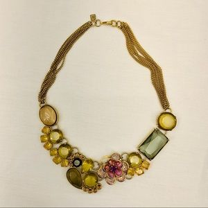 Banana Republic Gold Flower Necklace